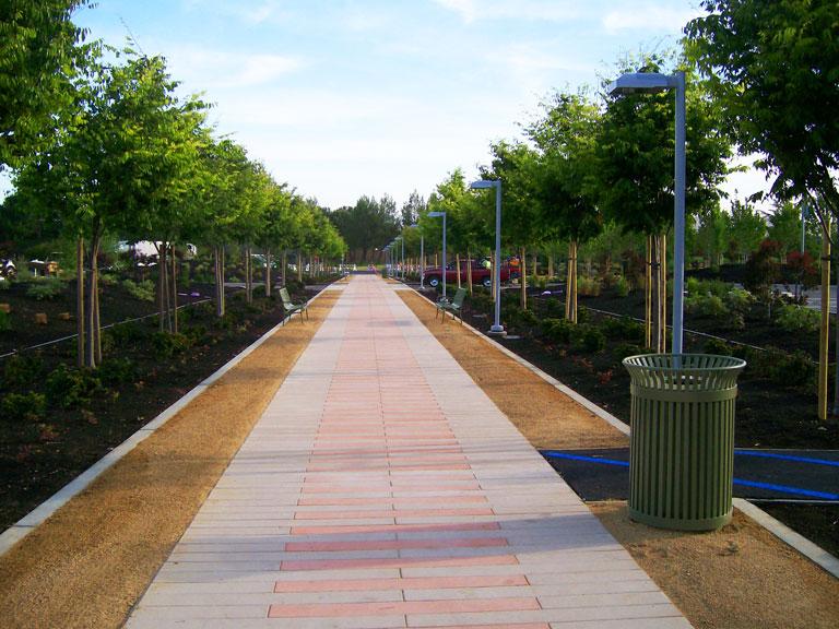 Pedestrian Walkway Construction - Pacific Coast General Engineering